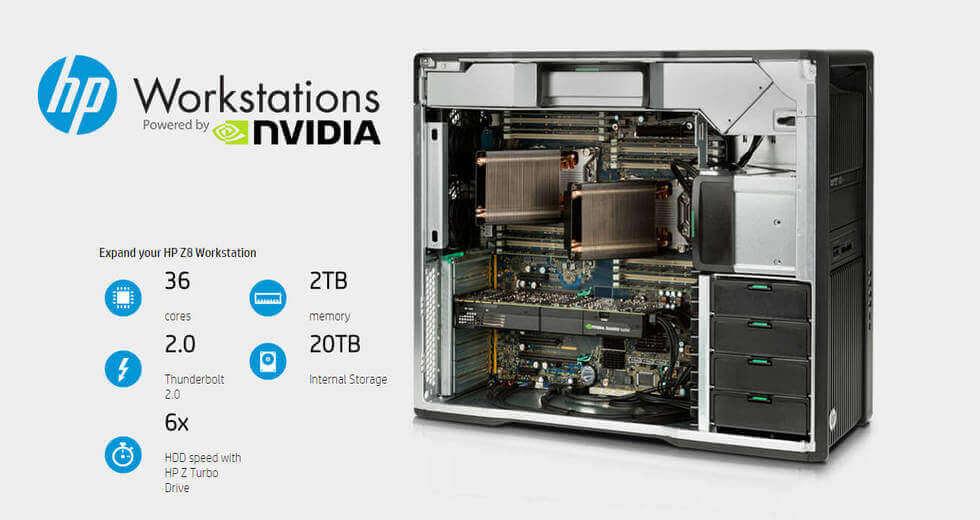 HP z820 Refurbished Workstation Computer