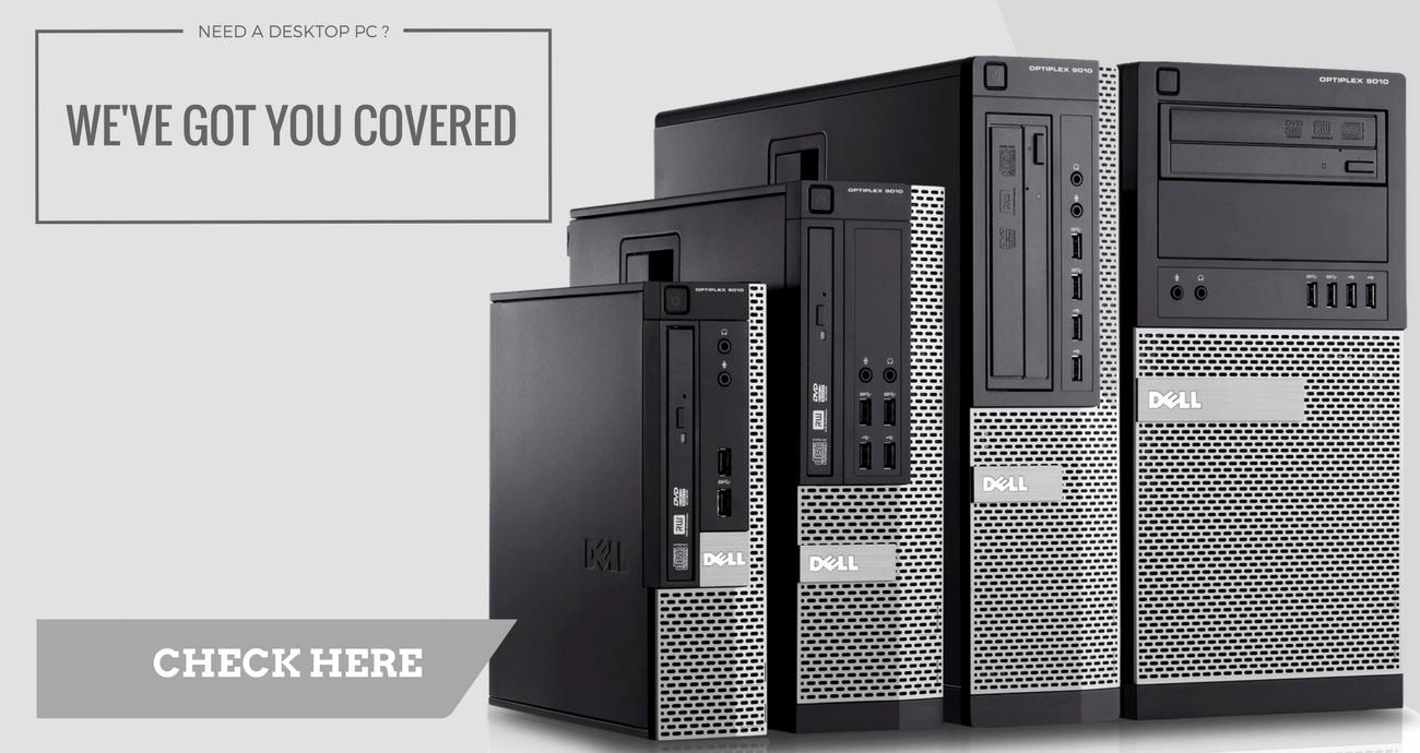 Refurbished Desktop PC - UK computer sale